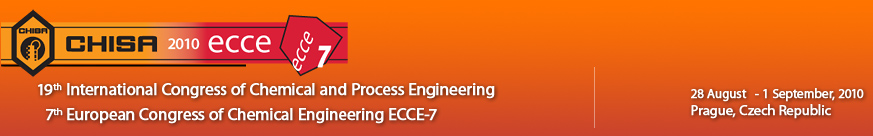 CHISA 2010 - 19th International Congress of Chemical and Process Engineering
